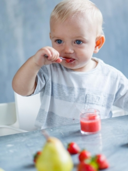 The Best age to start solids