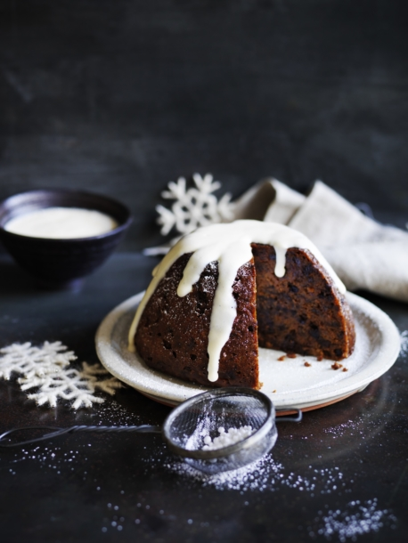 Quinoa Christmas Pudding
