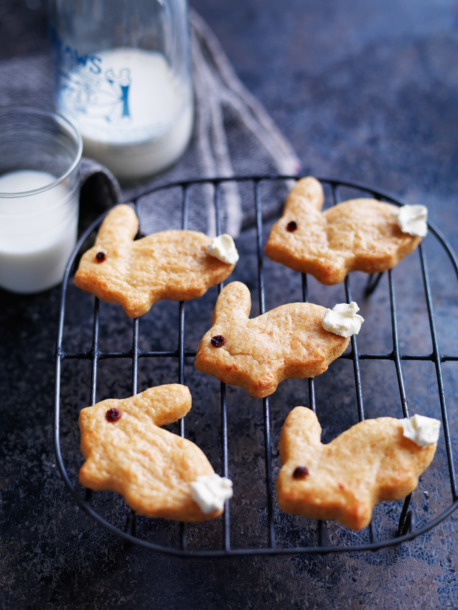 cheesy bunny biscuits