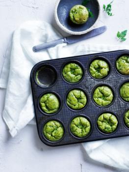 Green Pea Cakes