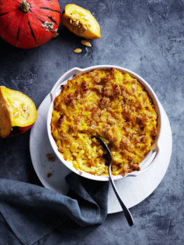 Pumpkin Macaroni Cheese