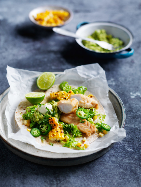 soft tacos with fish