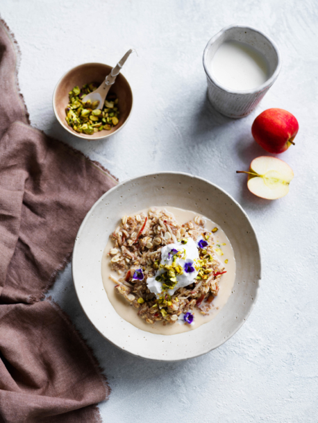 Apple Barley Bircher