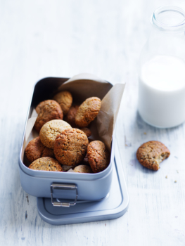coconut chai biscuits