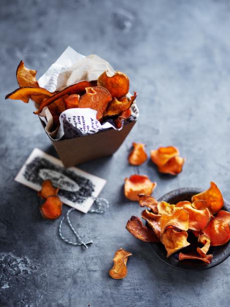 orange crisps