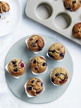 Cinnamon Berry Muffins